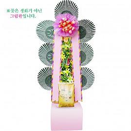 축하화환쌀화환10kg_f02